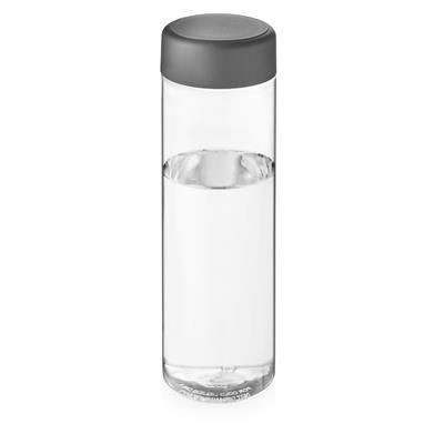 Picture of VIBE SCREW CAP BOTTLE in Transparent & Storm Grey