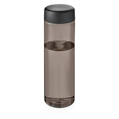 Picture of VIBE SCREW CAP BOTTLE in Heather Charcoal & Black Solid