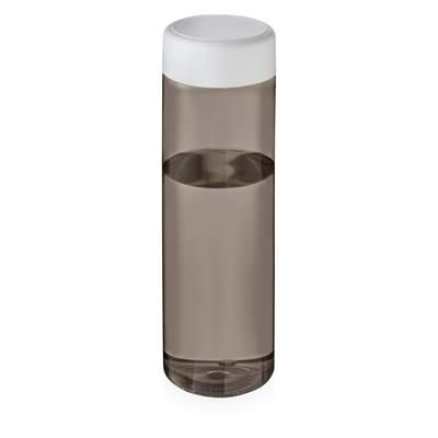 Picture of VIBE SCREW CAP BOTTLE in Heather Charcoal & White Solid