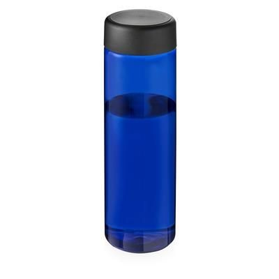 Picture of VIBE SCREW CAP BOTTLE in Blue & Black Solid
