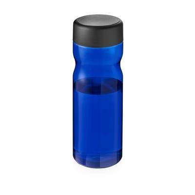 Picture of BASE SCREW CAP BOTTLE in Blue & Black Solid