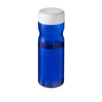 Picture of BASE SCREW CAP BOTTLE in Blue & White Solid