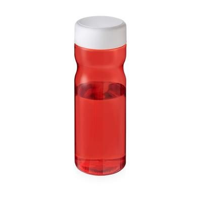 Picture of BASE SCREW CAP BOTTLE in Red & White Solid