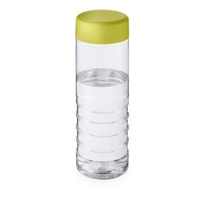 Picture of TREBLE SCREW CAP BOTTLE in Transparent & Lime