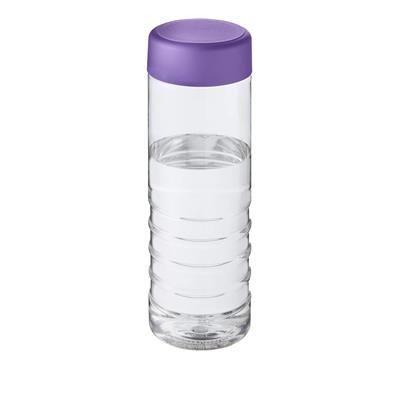 Picture of TREBLE SCREW CAP BOTTLE in Transparent & Purple