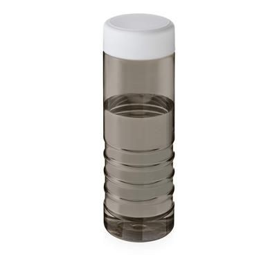 Picture of TREBLE SCREW CAP BOTTLE in Heather Charcoal & White Solid