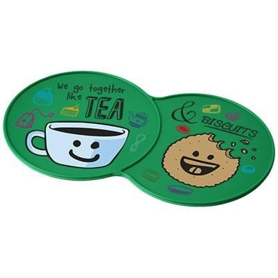 Picture of SIDEKICK PLASTIC COASTER in Green