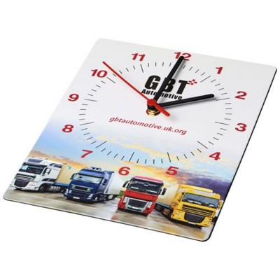 Picture of BRITE-CLOCK® RECTANGULAR WALL CLOCK in Black Solid