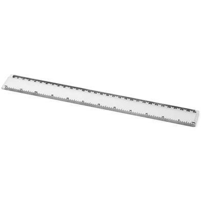 Picture of RENZO 30 CM PLASTIC RULER in Transparent Clear Transparent