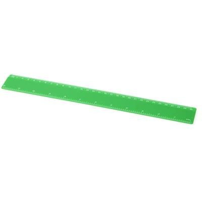 Picture of RENZO 30 CM PLASTIC RULER in Green