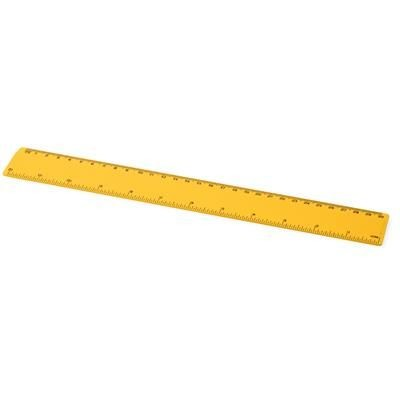 Picture of RENZO 30 CM PLASTIC RULER in Yellow