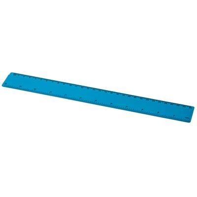 Picture of RENZO 30 CM PLASTIC RULER in Aqua