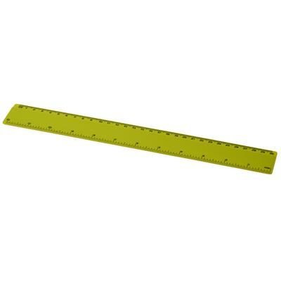 Picture of RENZO 30 CM PLASTIC RULER in Lime