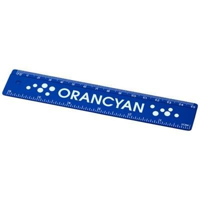 Picture of RENZO 15 CM PLASTIC RULER in Blue