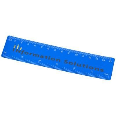 Picture of ROTHKO 15 CM PLASTIC RULER in Blue