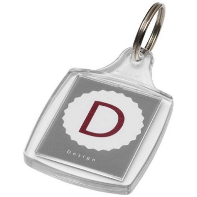 Picture of TOUR A5 KEYRING CHAIN in Transparent Clear Transparent