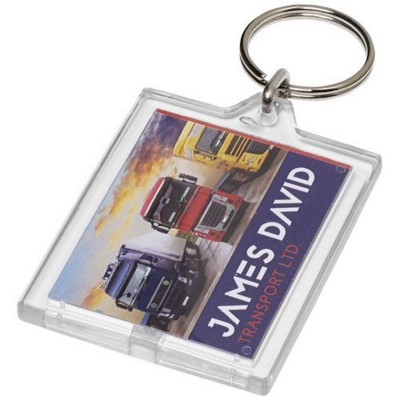 Picture of KAILEE E1 KEYRING CHAIN in Transparent Clear Transparent
