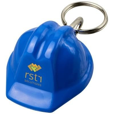 Picture of KOLT HARD-HAT-SHAPED KEYRING CHAIN in Blue
