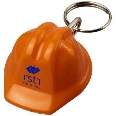 Picture of KOLT HARD-HAT-SHAPED KEYRING CHAIN in Orange