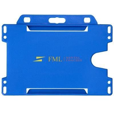 Picture of VEGA PLASTIC CARD HOLDER in Blue