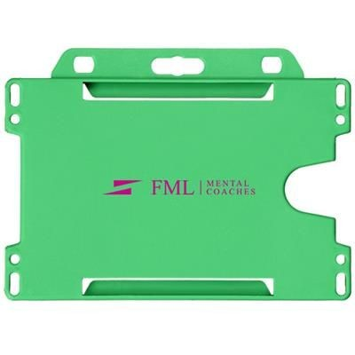 Picture of VEGA PLASTIC CARD HOLDER in Green