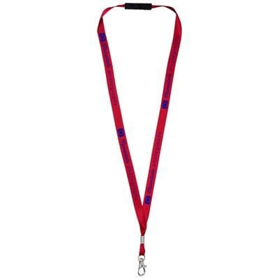 Picture of ORO RIBBON LANYARD with Break-away Closure in Red