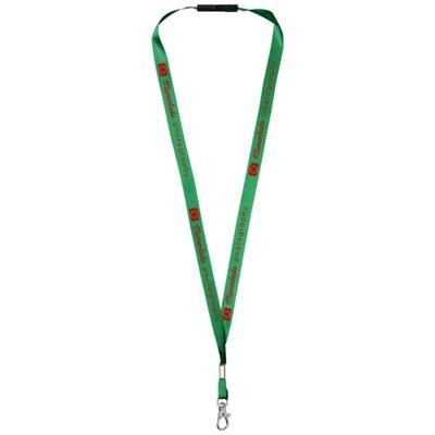 Picture of ORO RIBBON LANYARD with Break-away Closure in Green