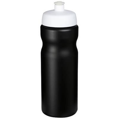 Picture of BASELINE® PLUS 650 ML SPORTS BOTTLE in Black Solid-white Solid