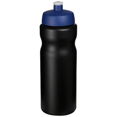 Picture of BASELINE® PLUS 650 ML SPORTS BOTTLE in Black Solid-blue