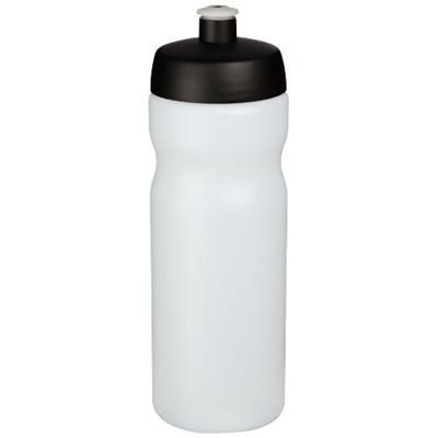 Picture of BASELINE® PLUS 650 ML SPORTS BOTTLE in Transparent-black Solid