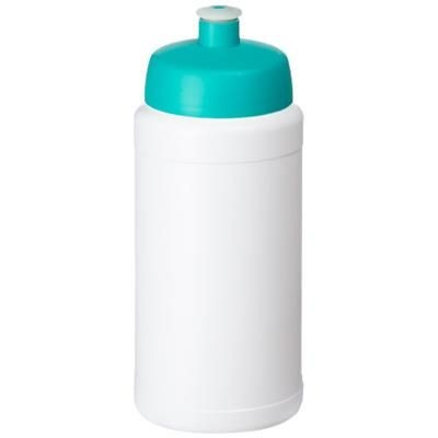 Picture of BASELINE® PLUS 500 ML BOTTLE with Sports Lid in White Solid-aqua