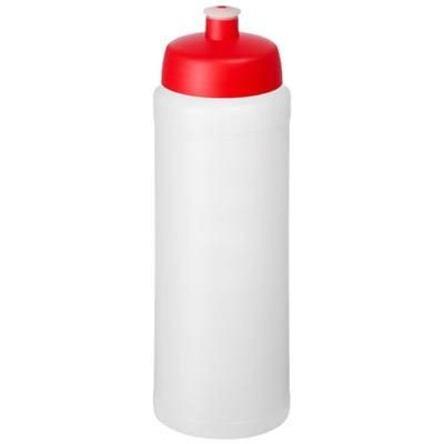 Picture of BASELINE® PLUS GRIP 750 ML SPORTS LID SPORTS BOTTLE in Transparent-red