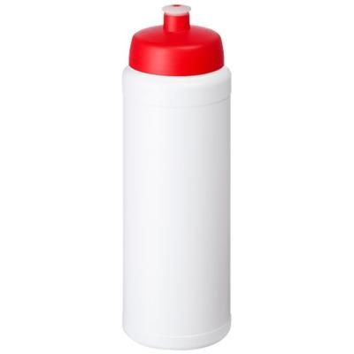Picture of BASELINE® PLUS 750 ML BOTTLE with Sports Lid in White Solid-red