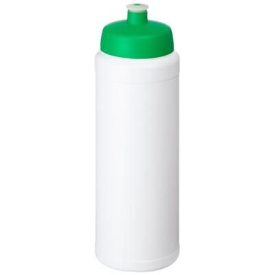 Picture of BASELINE® PLUS 750 ML BOTTLE with Sports Lid in White Solid-green