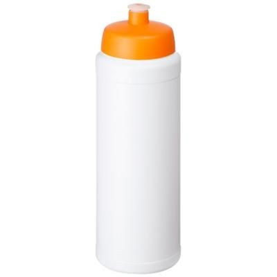 Picture of BASELINE® PLUS 750 ML BOTTLE with Sports Lid in White Solid-orange