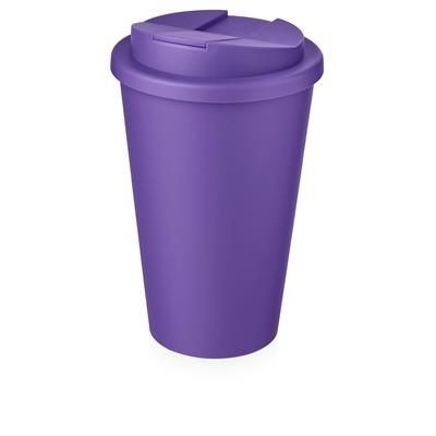 Picture of AMERICANO® 350 ML TUMBLER with Spill-proof Lid in Purple