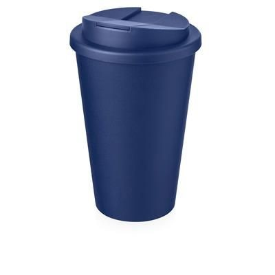 Picture of AMERICANO® 350 ML TUMBLER with Spill-proof Lid in Blue