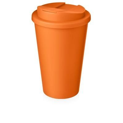 Picture of AMERICANO® 350 ML TUMBLER with Spill-proof Lid in Orange