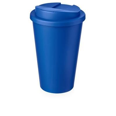 Picture of AMERICANO® 350 ML TUMBLER with Spill-proof Lid in Mid Blue