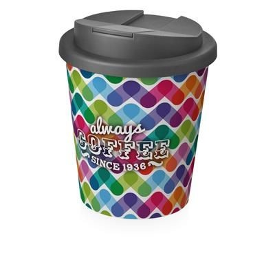 Picture of BRITE-AMERICANO ESPRESSO® 250 ML with Spill-proof Lid in White Solid & Grey