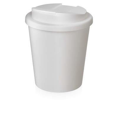 Picture of AMERICANO ESPRESSO® 250 ML TUMBLER with Spill-proof Lid in White Solid