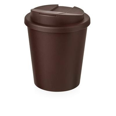 Picture of AMERICANO ESPRESSO® 250 ML TUMBLER with Spill-proof Lid in Brown