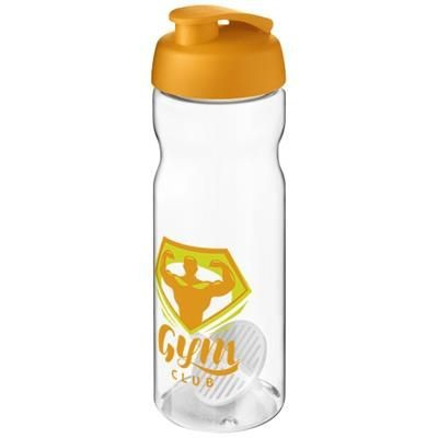 Picture of H2O ACTIVE BASE 650 ML SHAKER BOTTLE in Orange & Clear Transparent