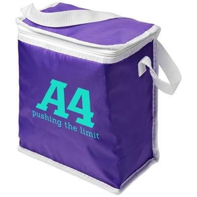 Picture of TOWER LUNCH COOL BAG in Purple