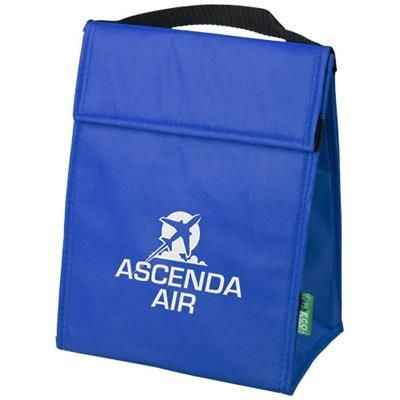 Picture of TRIANGULAR NON-WOVEN LUNCH COOL BAG in Royal Blue