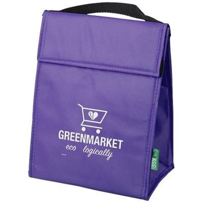 Picture of TRIANGULAR NON-WOVEN LUNCH COOL BAG in Lavender