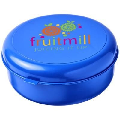 Picture of MIKU ROUND PLASTIC PASTA BOX in Blue