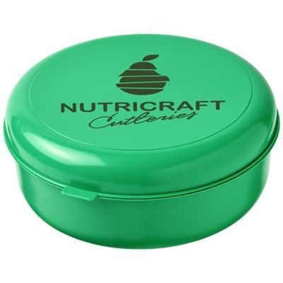 Picture of MIKU ROUND PLASTIC PASTA BOX in Green