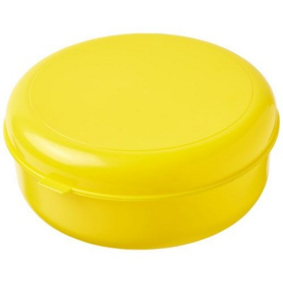 Picture of MIKU ROUND PLASTIC PASTA BOX in Yellow