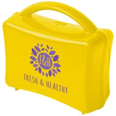 Picture of STUBI JUNIOR LUNCH BOX in Yellow